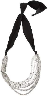 Lanvin embellished chain necklace