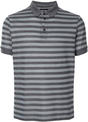 Giorgio Armani striped polo shirt