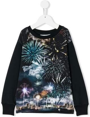 Molo fireworks print sweatshirt
