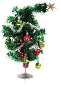 "Kurt Adler 15"" Grinch Mini Tree Set"
