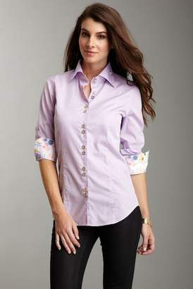 Jared Lang Lilac Button Down Shirt