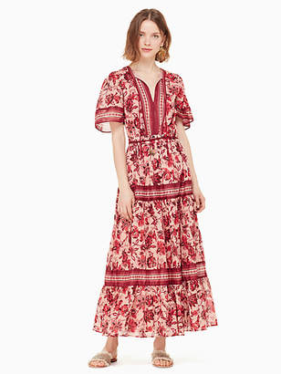 Kate Spade Paisley blossom midi dress