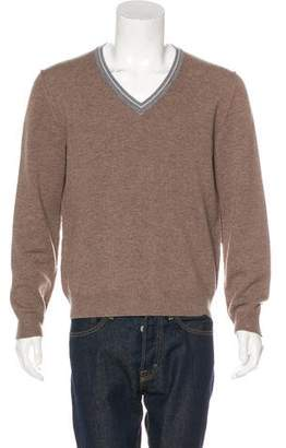 Prada Sport V-Neck Sweater