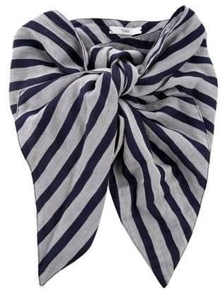 Tome Striped Obi Belt