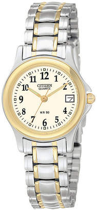 JCPenney Citizen Quartz Citizen Womens Two-Tone Watch EU1974-57A