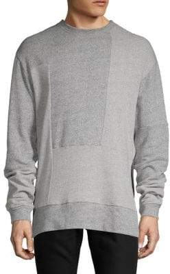 McQ Recy Ribbed Panel Pullover