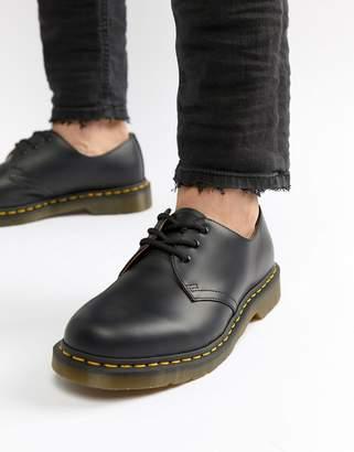 Dr. Martens (ドクターマーチン) - Dr Martens original 3-eye shoes in black 11838002