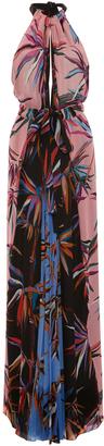 Emilio Pucci Halter Maxi Dress $3,810 thestylecure.com