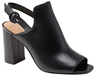 Banana Republic Peep Toe Bootie