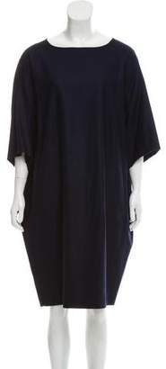 Alberto Biani Knee-Length Wool Dress