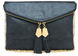 Urban Expressions Brooklyn Tassel Clutch