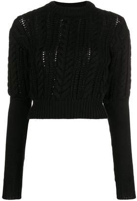 Philosophy di Lorenzo Serafini cable knit jumper