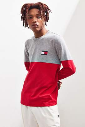 Tommy Hilfiger Colorblock French Terry Long Sleeve Tee