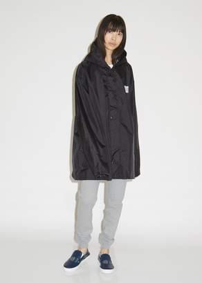 Vetements QR Code Short Raincoat