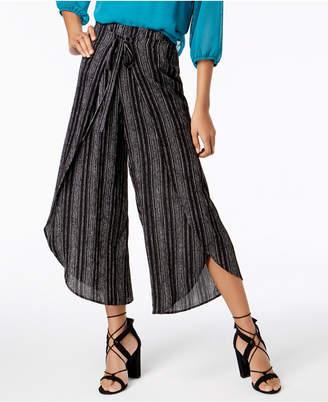 BCX Juniors' Striped Tulip Pants