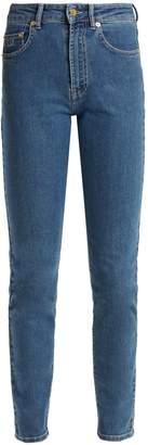 Emilia Wickstead Kendall slim-leg stretch denim jeans