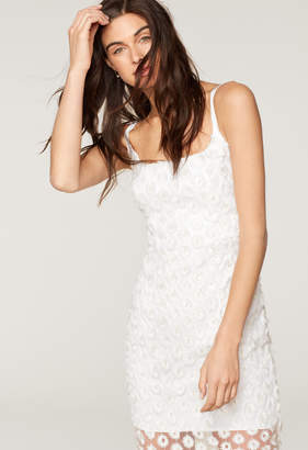 Milly STRETCH DAISY LACE JESSIE DRESS