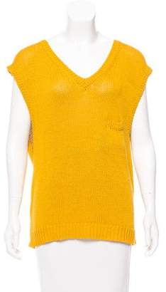 Organic by John Patrick Sleeveless Knit Top