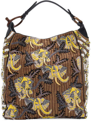 Jamin Puech beaded embroidered shoulder bag