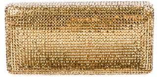 Kotur Crystal Embellished Clutch