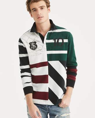 Ralph Lauren Classic Fit Patchwork Rugby