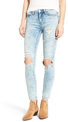 Women's Blanknyc Distressed Skinny Jeans $88 thestylecure.com