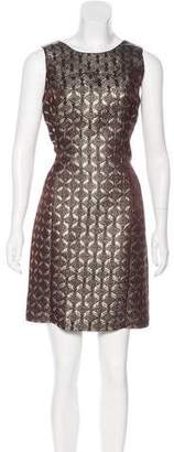 MICHAEL Michael Kors Brocade Sheath Dress