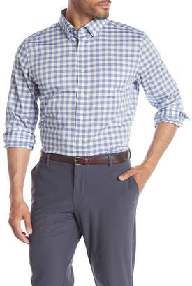 Hickey Freeman Long Sleeve Woven Regular Fit Shirt