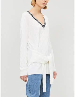 Sandro Emma wool-blend jumper