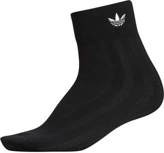 adidas Mesh-Stripe Ankle Socks