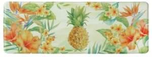"Bacova Tropical Pineapple Memory Foam Runner 20""x55"" Accent Rug Bedding"