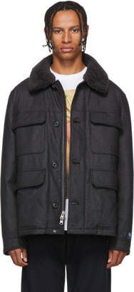 Loro Piana Woolrich John Rich And Bros Woolrich John Rich and Bros Grey Down Stag jacket