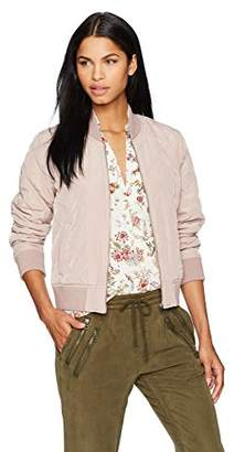 Lucky Brand Women's Quilted Bomber