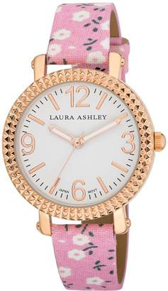 Laura Ashley Women's LA31005PK Analog Display Japanese Quartz Watch