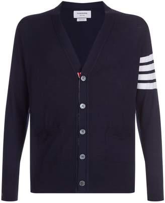 Thom Browne Four Stripe Classic Cardigan