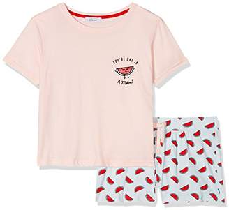 749d194397 New Look 915 Girl s One in a Melon Short Regular Fit Pyjama Sets