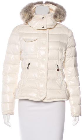 MonclerMoncler Fur-Trimmed Armco Coat