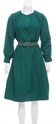 Derek Lam Belted Long Sleeve Dress w/ Tags