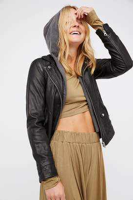c6468ac354ae Doma Clash Leather Jacket. Doma Clash Leather Jacket $720. Get a Sale Alert  View Details · at Free People · Understated Leather Cinched Waist Leather  Tie ...