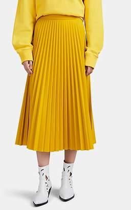 MM6 MAISON MARGIELA Women's Pleated Full Midi-Skirt - Yellow