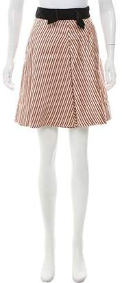 Marc by Marc Jacobs Silk Bow-Tie Skirt