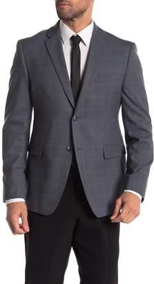 Original Penguin Medium Gray Plaid Sportcoat