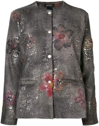 Avant Toi paint splatter jacket