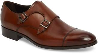 To Boot Bankston Cap Toe Double Strap Monk Shoe