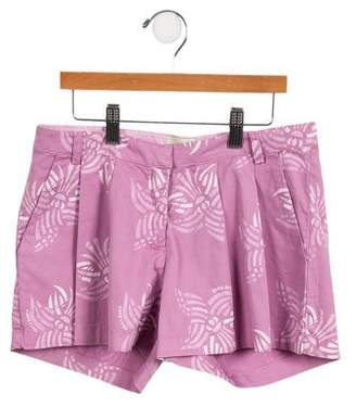 Fendi Girls' Pleated Mini Skort