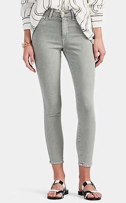 L'Agence Women's Margot High-Rise Skinny Crop Jeans - Lt. Green