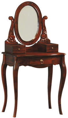 Queen Ann 3 Drawer Small Dressing Table
