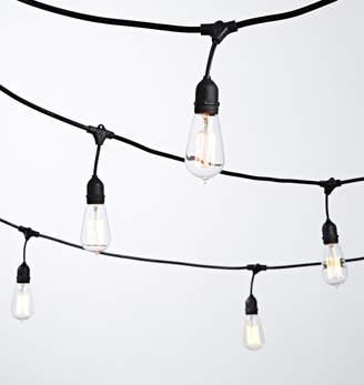 Rejuvenation 24 Squirrel Cage Tungston Filament Bulb String Lights