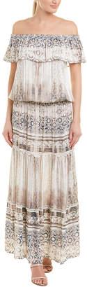 Hale Bob Off-The-Shoulder Maxi Dress
