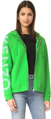 KENZO Hooded Sweatshirt $380 thestylecure.com
